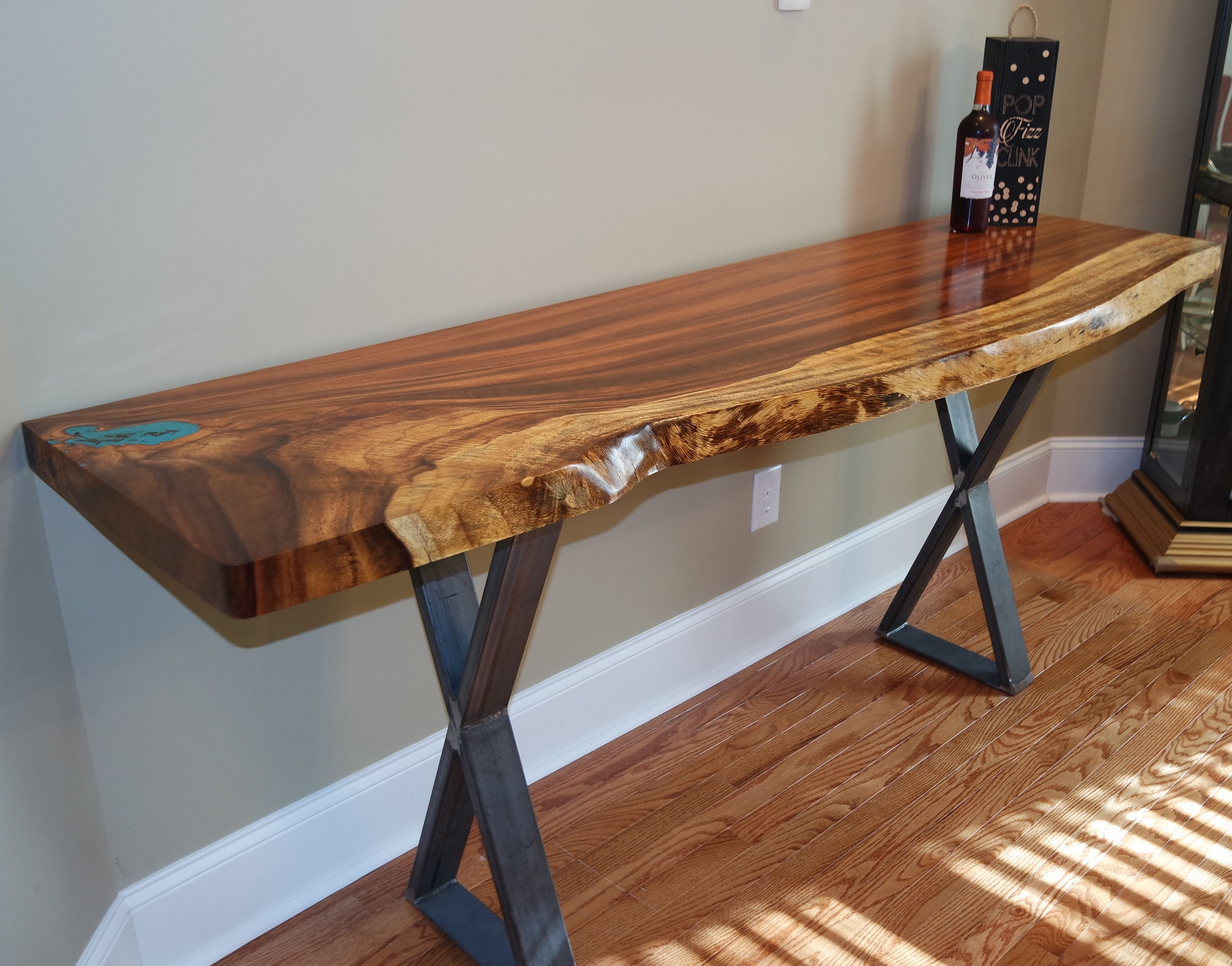 New solid Wood Entry Tables