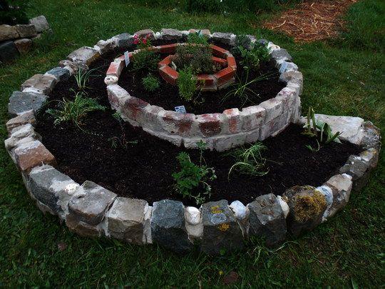 la spirale d 39 aromatiques potager jardins et plante jardin. Black Bedroom Furniture Sets. Home Design Ideas