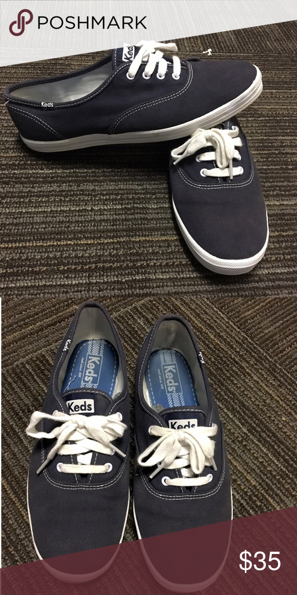 Keds: Champion Originals Only worn once but were wrong size. Haven't  been taken out of the box since then Keds Shoes Sneakers