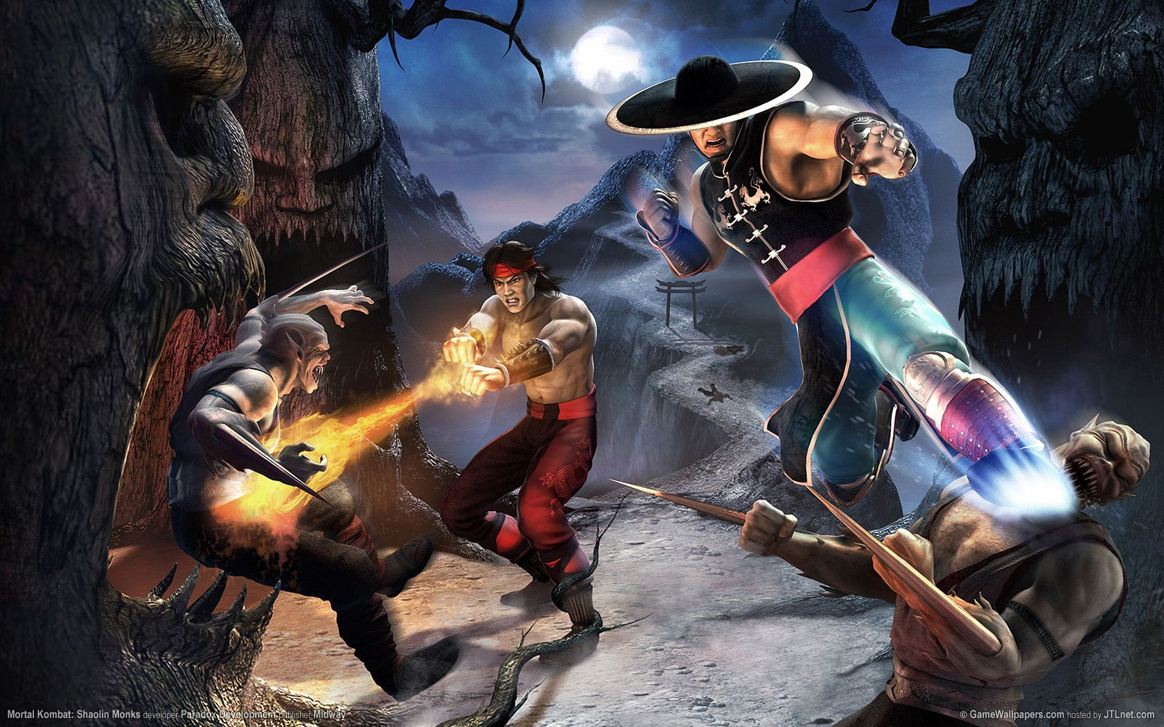 Mortal Kombat Wallpaper Mk Wallpapers Mortal Kombat Shaolin Monks Shaolin Monks Mortal Kombat