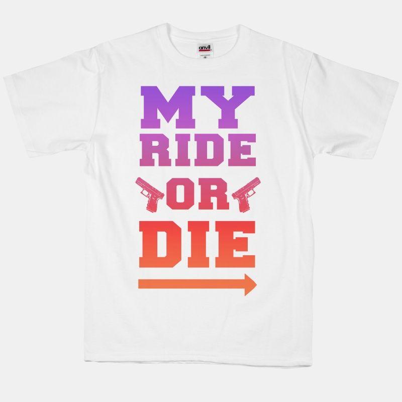 My Ride or Die (Dusk) Tank Top   LookHUMAN   Savannah