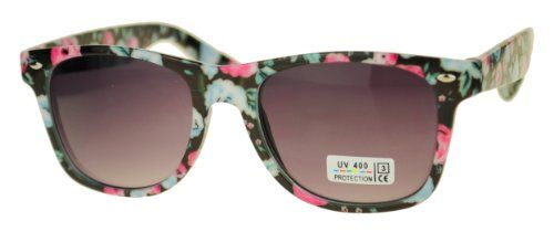 Frienda 2 Paare Mode /Übergro/ß Siamesische Linse Sonnenbrille Unisex Platz Sonnenbrille Schatten