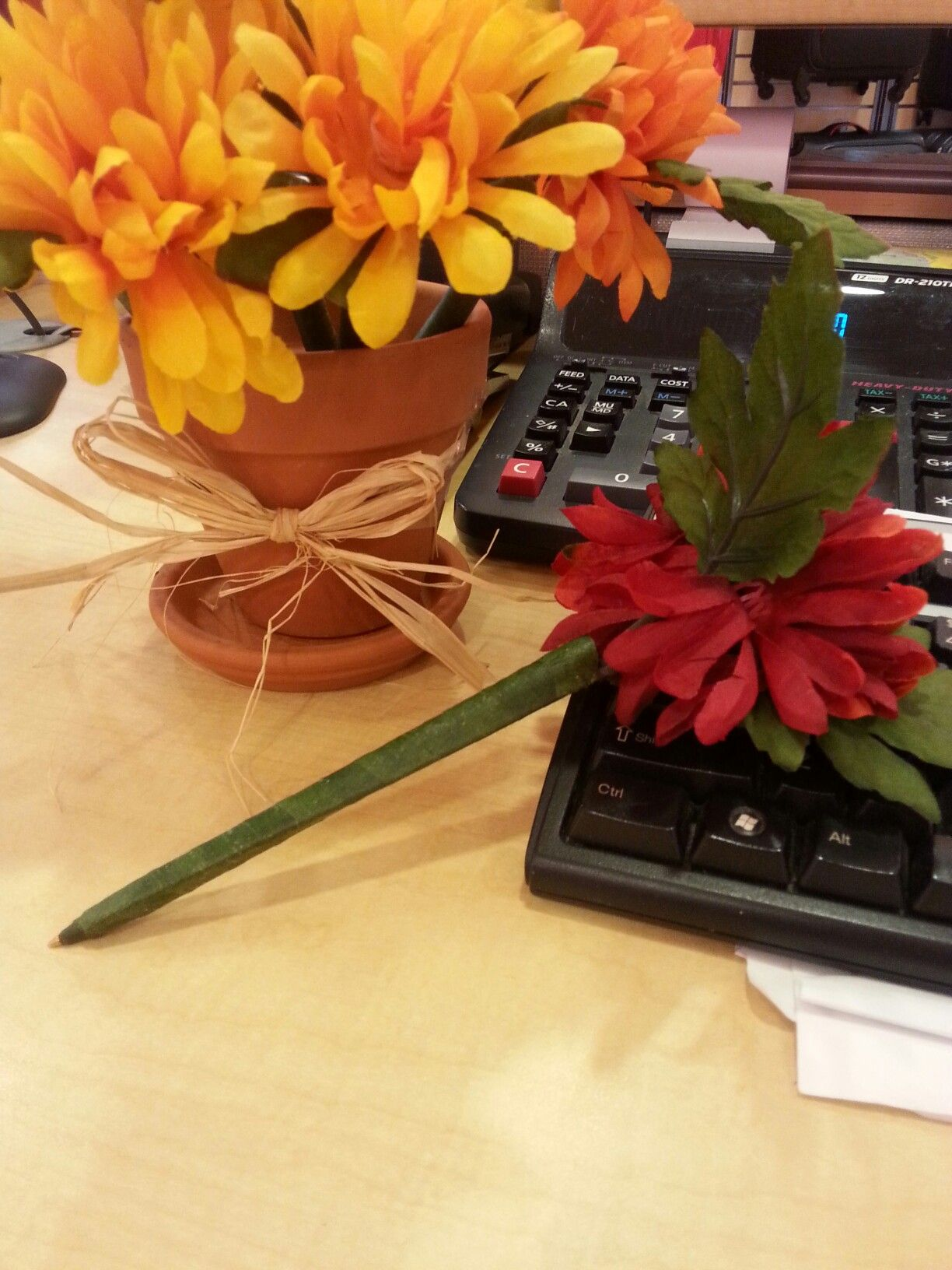 Flower Pen bouquet | Created by Kima | Pinterest
