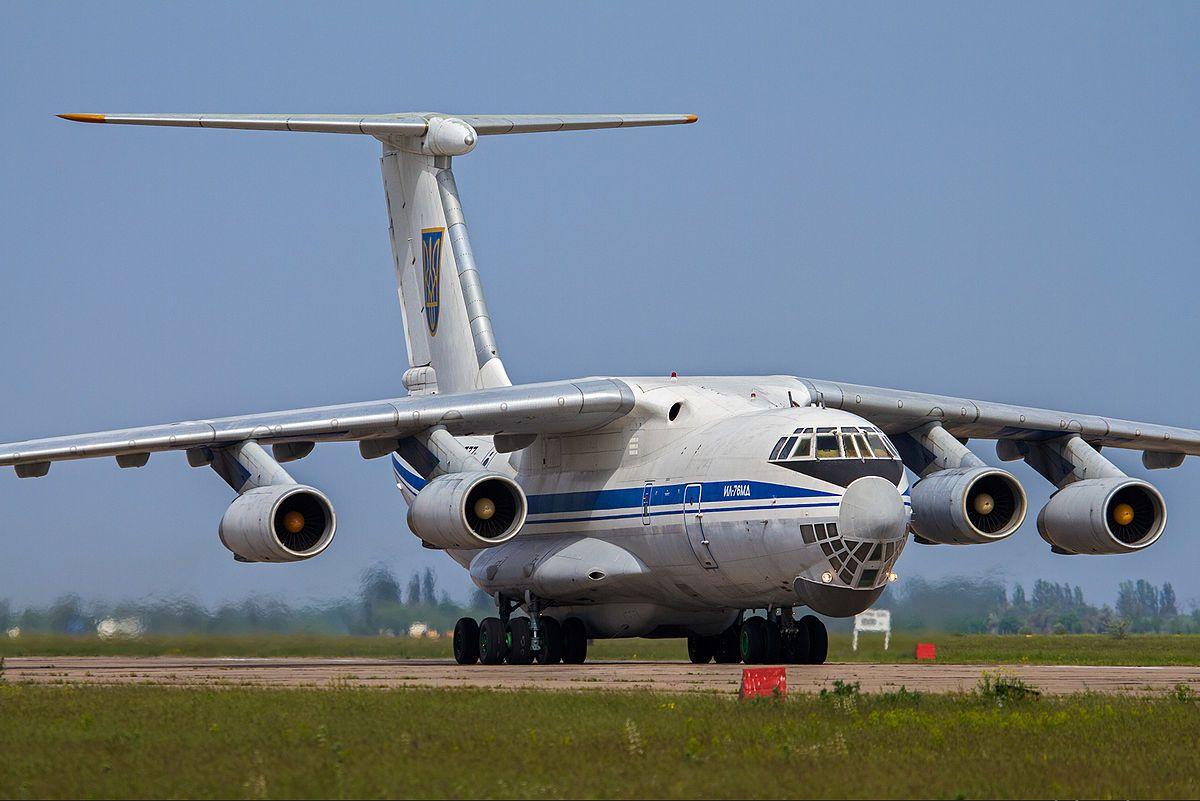 https://upload.wikimedia.org/wikipedia/commons/thumb/d/d0/Ukrainian_Air_Force_Ilyushin_Il-76MD_%2876777%29.jpeg/1200px-Ukrainian_Air_Force_Ilyushin_Il-76MD_%2876777%29.jpeg