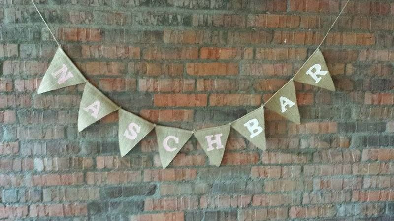 Hochzeit NASCHBAR rosa weiß Feierliches Candybar von Feierliches