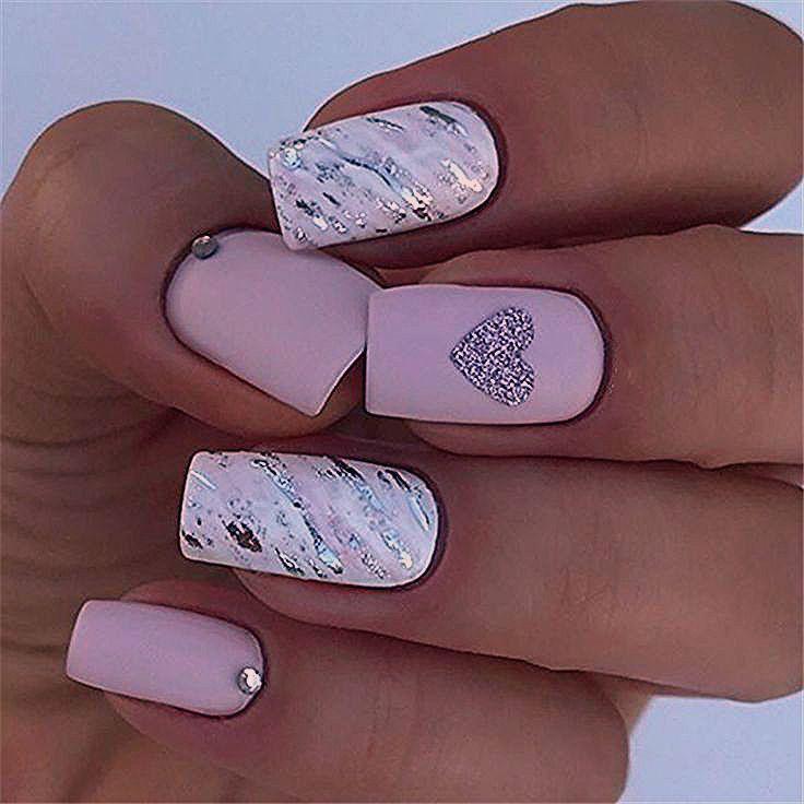 Photo of 37 Spring Elegant Sqaure Matte Nails Design Concepts