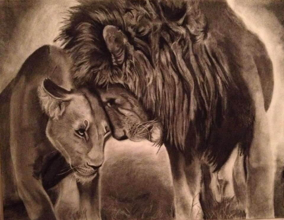 46++ Astonishing King and queen tattoos lions image HD