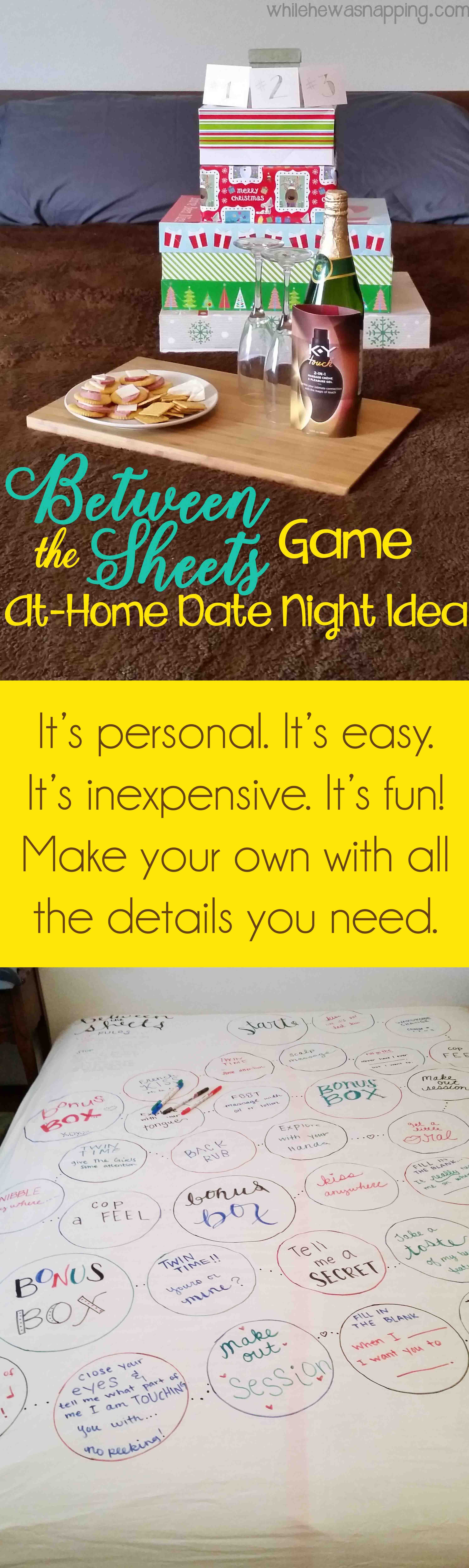 A Great Bedroom Game You Can DIY That Doubles As A Gift And A Date Night