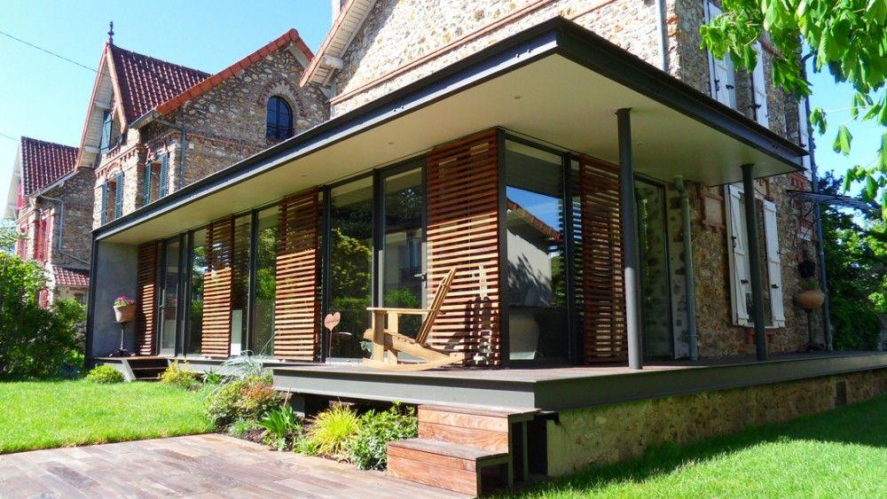 A Ermont, des particuliers ont souhaité agrandir leur maison en - prix pour extension maison