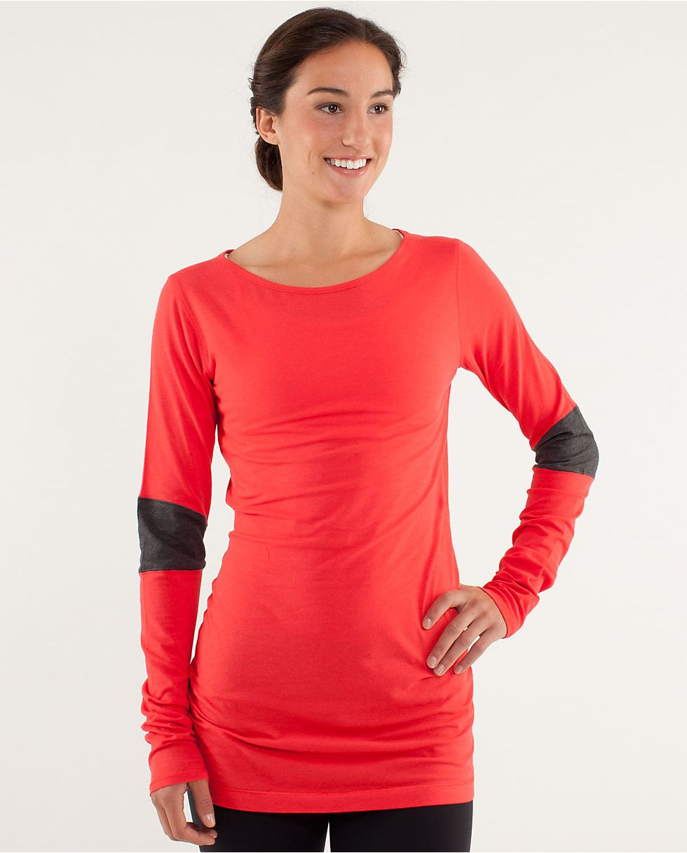 1f2977462 devotion long sleeve in love red, lululemon just bought on MD :) so excited