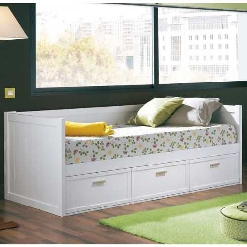 Divan cama 1 plaza 1 2 laqueado linea expo gp muebles for Futon cama 1 plaza y media