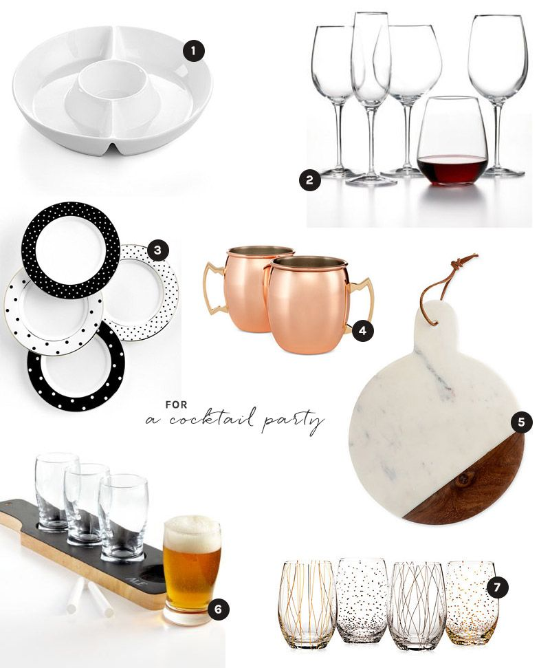 Macy Wedding Gifts: Entertain With Items From Your Macy's Wedding Registry