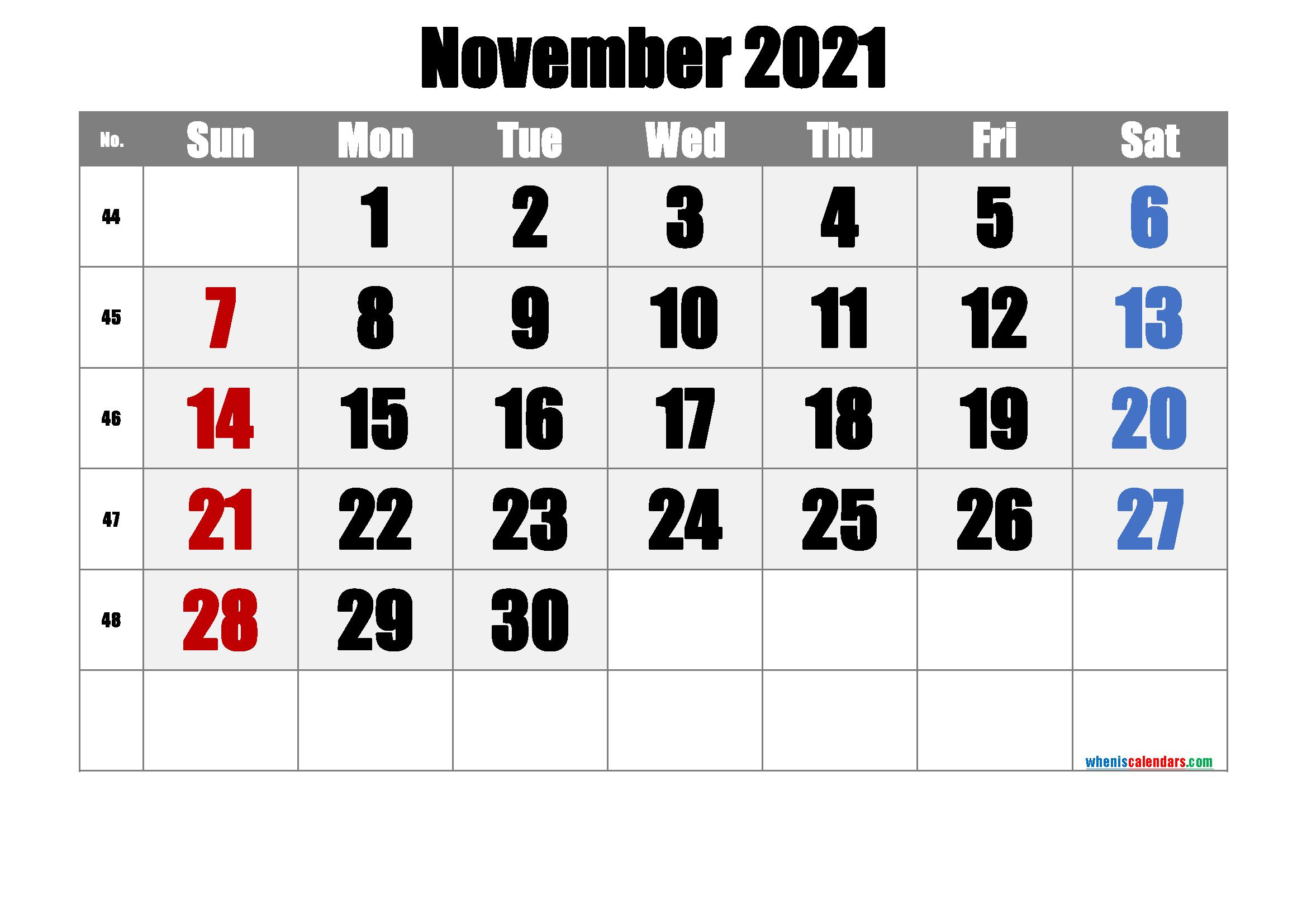 Free Printable November 2021 Calendar Premium Calendar Printables June Calendar Printable 2021 Calendar