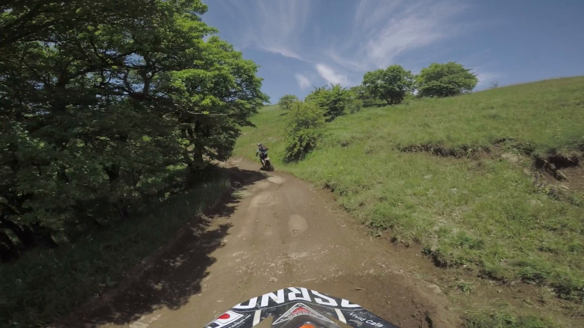 Bike nature Enduro journey with dirt bike high in the Caucasian mountains hills journeydirtbikeBike