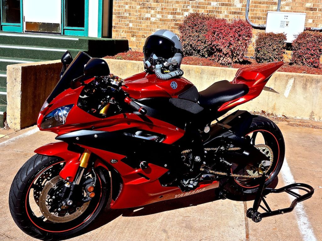07 Candy Red R6 CLEAN In Socal Yamaha Forum