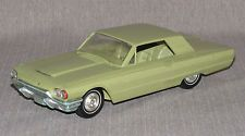 Vintage Ford Thunderbird 1964 Promo Model Toy Car Green Promotional