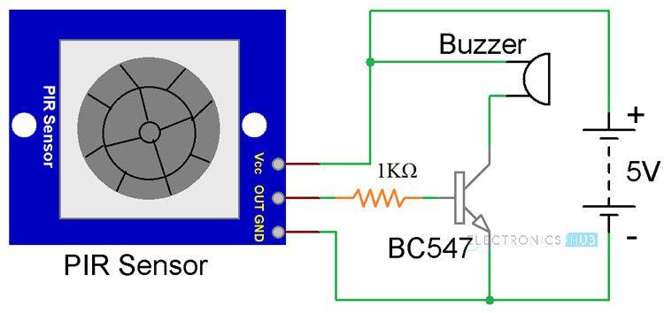 Arduino Pir Sensor Tutorial Pir Motion Sensor With Arduino Arduino Sensor Motion Sensor