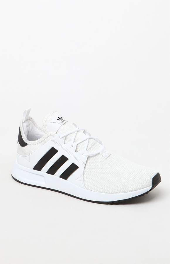 27b44632a69f9 adidas X  PLR Knit White   Black Shoes