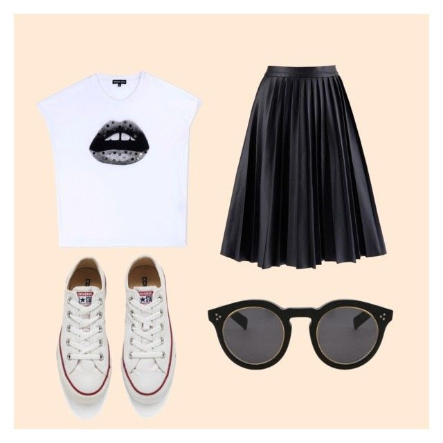 """Punk princess"" by boyo-bolortsetseg on Polyvore featuring Markus Lupfer, Converse, Illesteva, women's clothing, women, female, woman, misses and juniors"