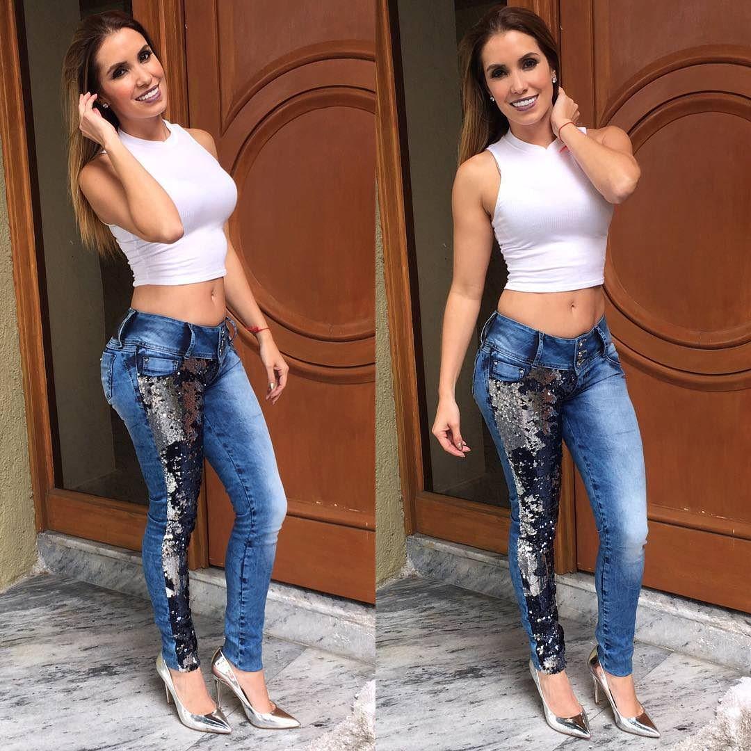 Andrea Escalona Smile Girl Fashion Fashion High Heels