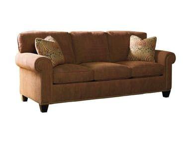 Sherrill Custom Upholstery Three Cushion Sofa W Nail Trim 7131 33