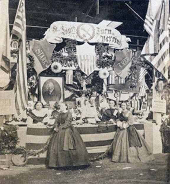 UNITED STATES SANITARY COMMISSION HEADQUARTERS TENT 1864 GETTYSBURG PENNSYLVANIA