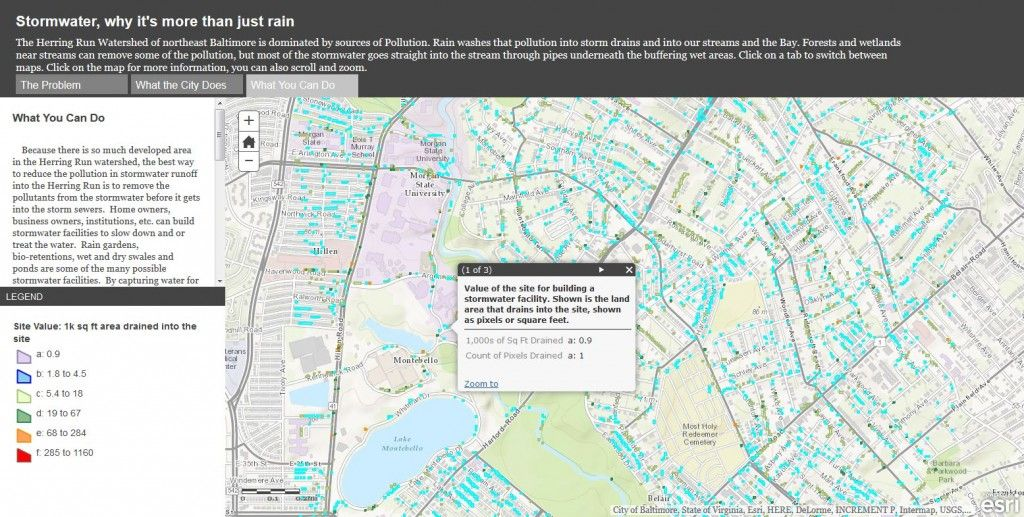 Eight Maps for World Water Day Esri Insider GIS