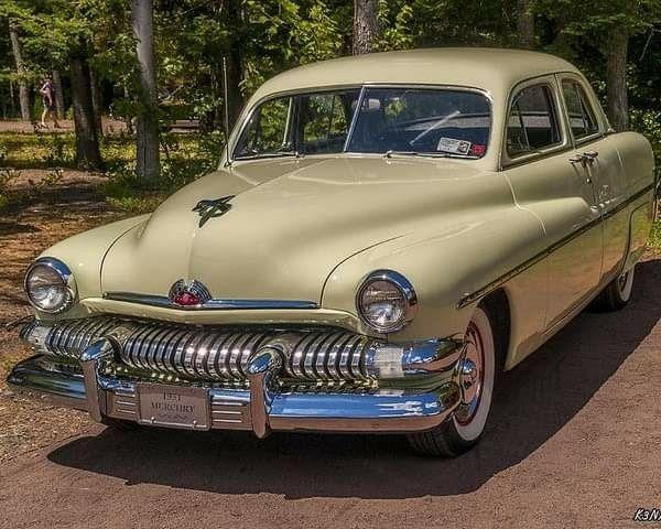 1951 Mercury 4 Door Sedan Auto Carros Carros Antigos