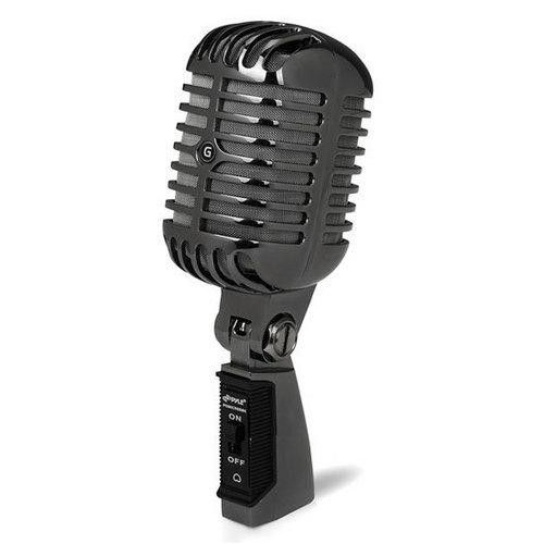 Classic Retro Dynamic Vocal Microphone W/ 15ft XLR Cable