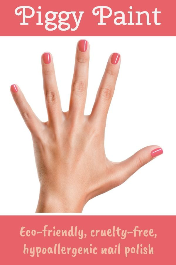 Piggy Paint Nail Polish is completely non-toxic and safe to use ...