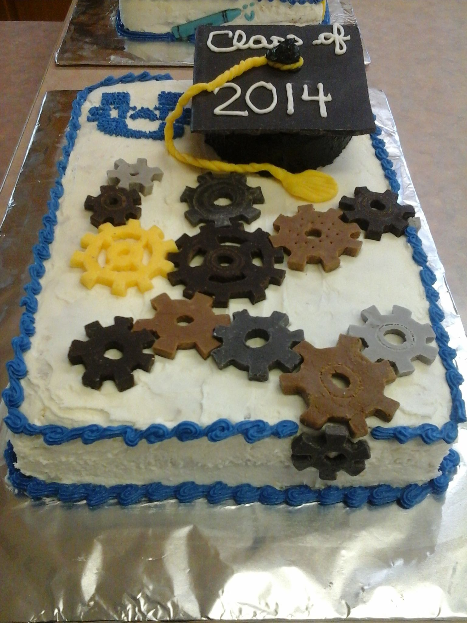 Engineering Party Ideas : Mechanical engineer cake decorating pinterest
