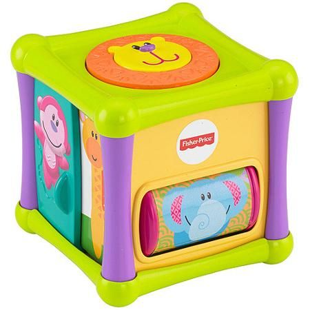 Fisher Price Growing Baby Animal Activity Cube Activity Cube Animal Activities Baby Animals
