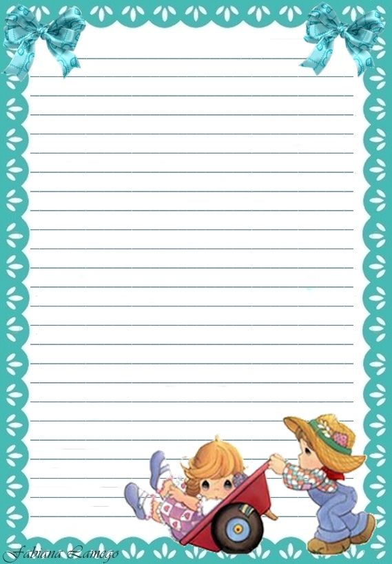 Momentos Preciosos | All Letter Pads | Writing paper, Lined