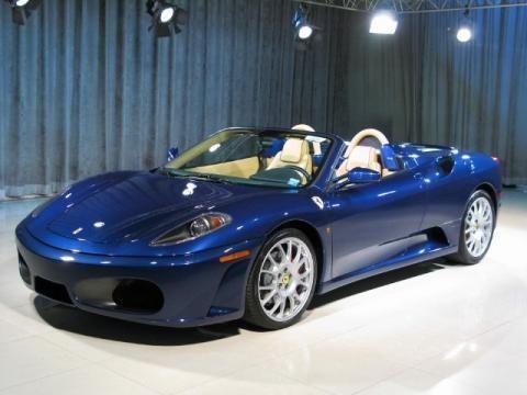 Ferrari F430 Spider Blue Ferrari F430 Blue With Images Ferrari