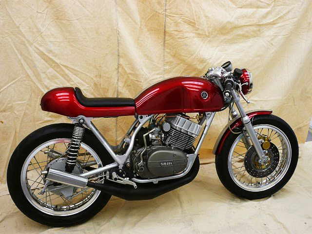 Mid 70's Yamaha RD350  Clean and stripped classic Japanese