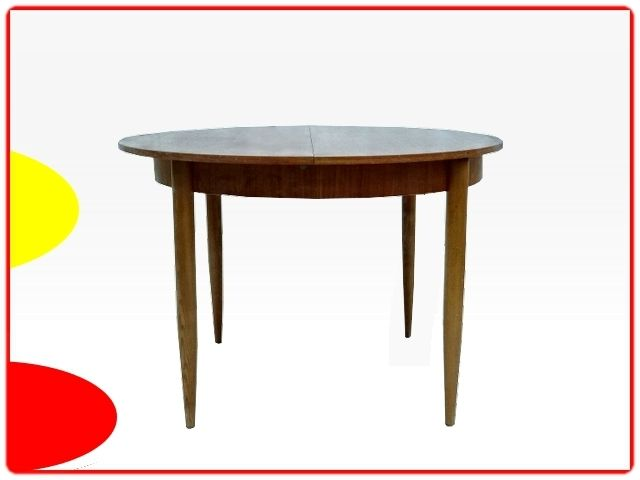 TABLE de SALLE A MANGER TECK meubles design vintage scandinave art