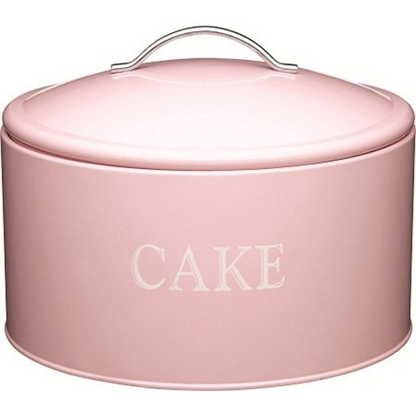 Kitchen Craft Jumbo Cake Storage Tin 33 Found On Polyvore Cake Tins Kitchen Crafts Tin Kitchen