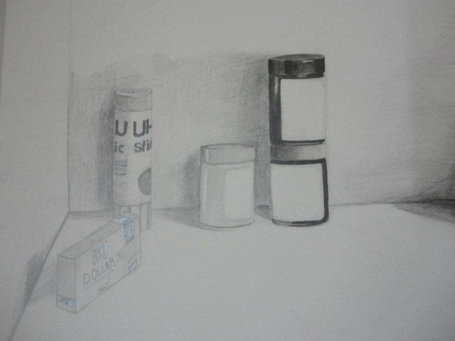 shading still life drawing by cj zac on deviantart