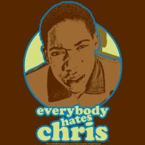 #everybodyhateschris #popfunk  http://www.popfunk.com/mens-tees/cbs-television-city/everybody-hates-chris/ehc-chris-graphic.html
