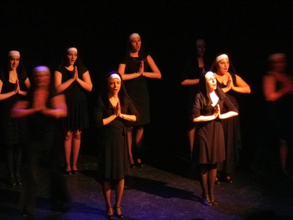 Adult Show Choir, Sister Act Medley.
