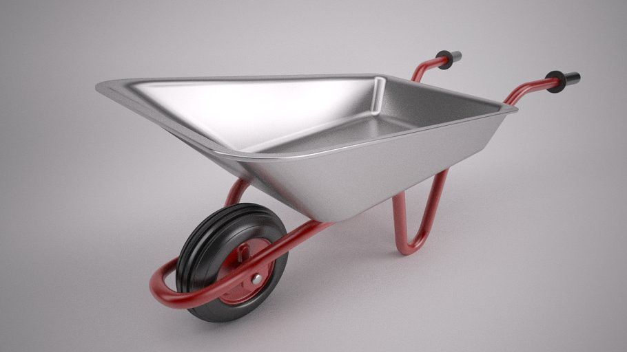 Wheel Barrow With Images Wheelbarrow Construction Design Typography Design Tutorial