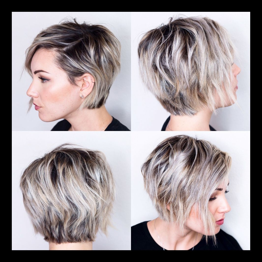 Hairstyles Sassy Short Layered Haircut Exceptional 360 View Of Growing Out Short Hair Styles Oval Face Haircuts Oval Face Hairstyles