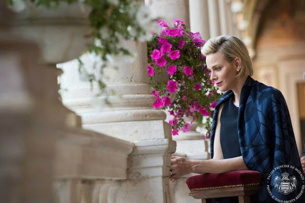 Corpus Christi celebrations in Monaco - Princess Charlene