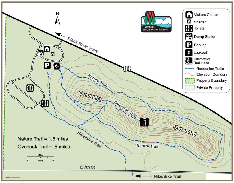 Try This Trail In 2020 River Falls Nature Trail Black River Falls