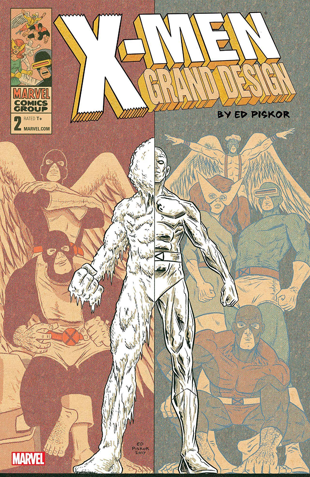X Men Grand Design Second Genesis 1 Of 2 Corner Box Var 2018 Grand Designs X Men Genesis