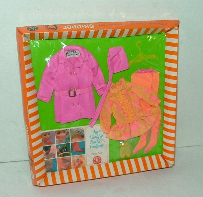 1964 Mattel Skipper Chilly Chums Outfit Mint on Original Card Complete | eBay