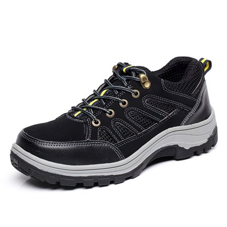 Meigar Men S Steel Toe Safety Shoes Work Sneakers Anti Slip Hiking
