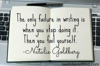 Never fail.