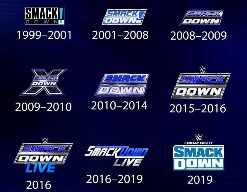 Which Smackdown Logo Was The Best Lucha Lucha Libre Heroe