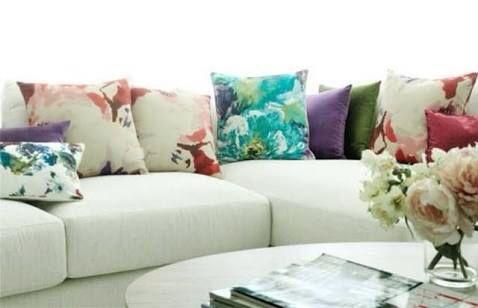 Best 25 cojines decorativos para sala ideas on pinterest for Cojines para sofas
